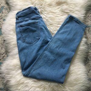 Vintage Bill Blass | high-waist tapered jeans | 28